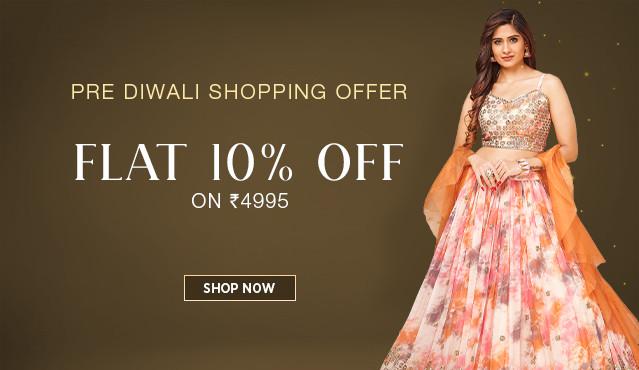 Pre Diwali Shopping Offer