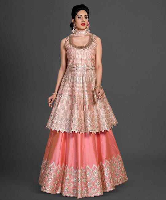 Lehenga Style Salwar Suit