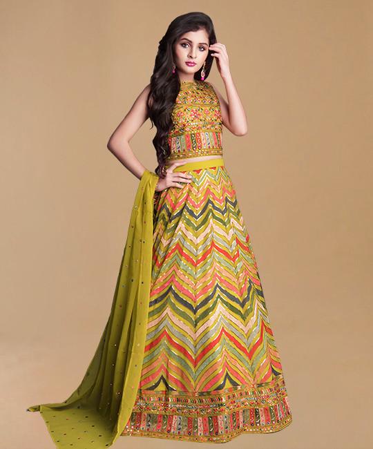 Wedding Choli Suit