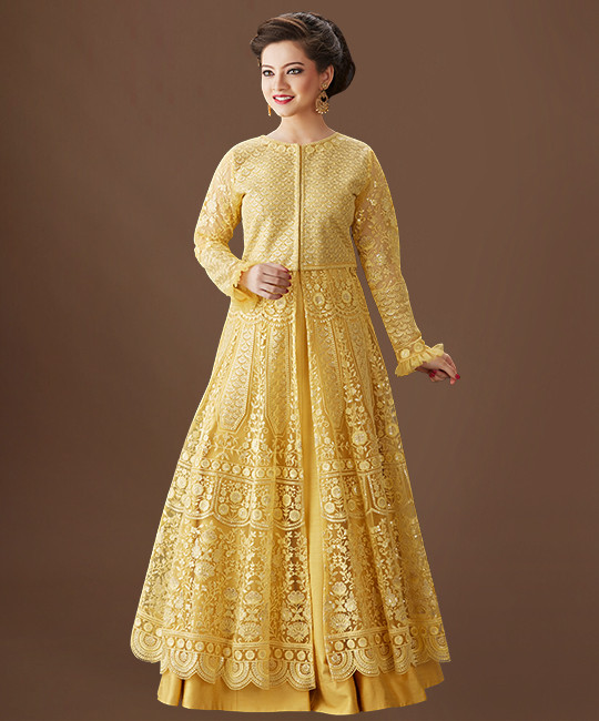 Net Choli Suit