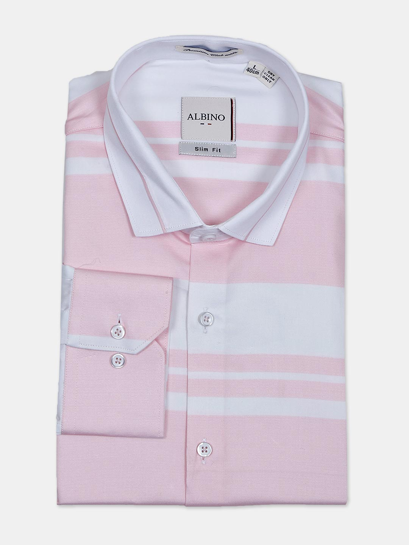 Albino stripe pink formal wear shirt?imgeng=w_400