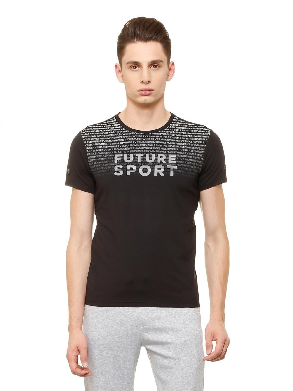 Allen Solly black hue printed t-shirt?imgeng=w_400