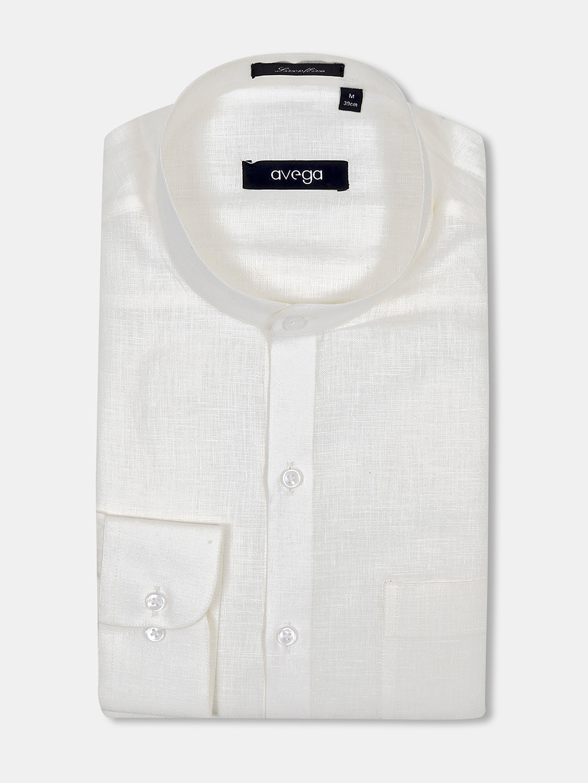 Avega cream hue linen solid shirt?imgeng=w_400