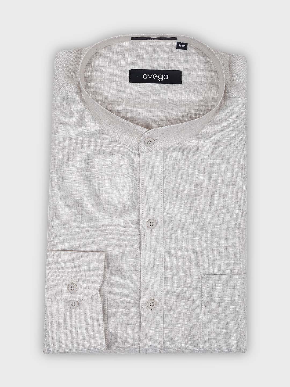 Avega cream hue solid pattern shirt?imgeng=w_400