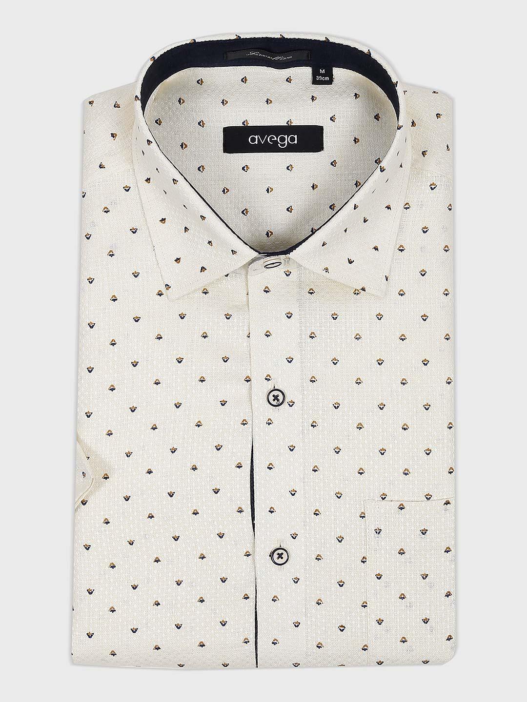 Avega cream printed pattern shirt?imgeng=w_400