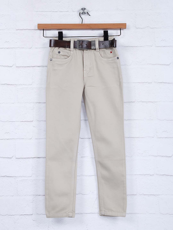 Bad Boys beige hue solid denim jeans?imgeng=w_400