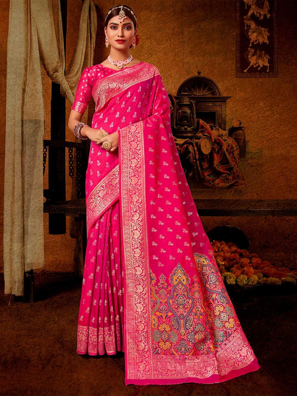 Banarasi silk grey wedding saree?imgeng=w_400