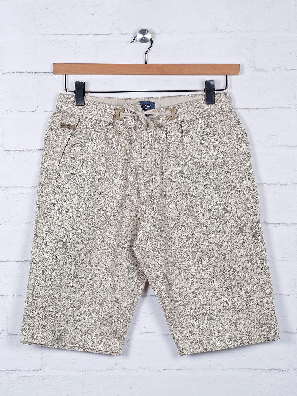 Beevee printed beige casual shorts?imgeng=w_400