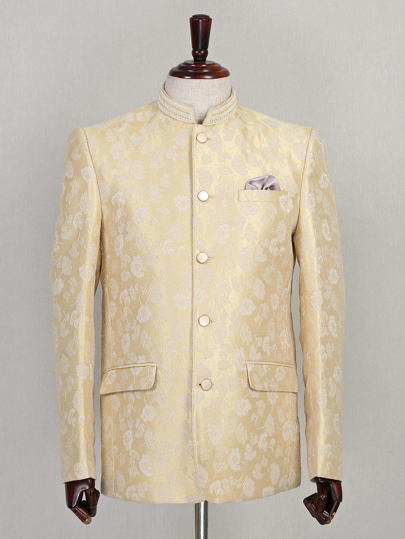 Beige designer silk jodhpuri suit?imgeng=w_400