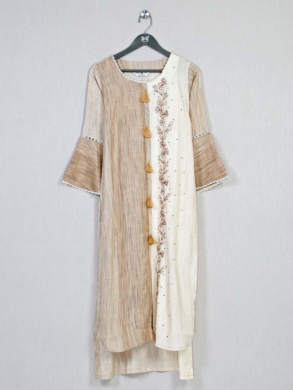 Beige festive wear cotton kurti?imgeng=w_400