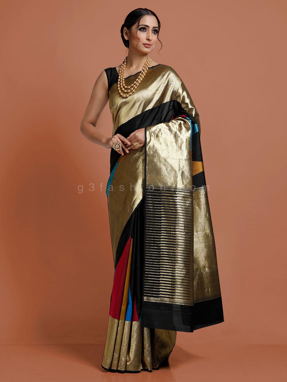 Black color kanjivaram saree?imgeng=w_400