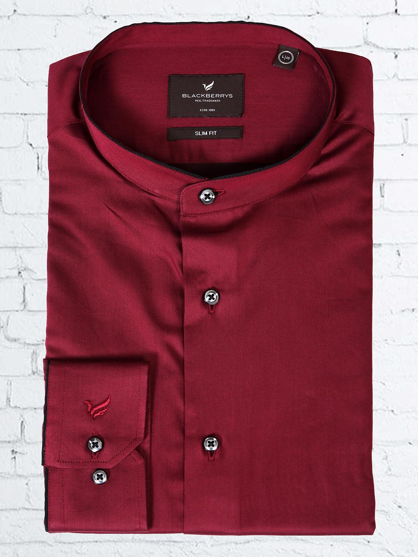 Blackberrys maroon plain shirt?imgeng=w_400
