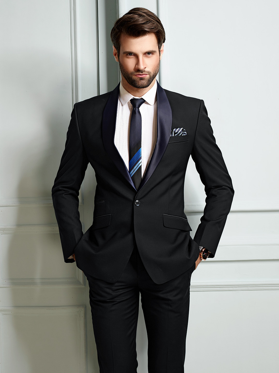 Blue hue mens solid coat suit party wear?imgeng=w_400