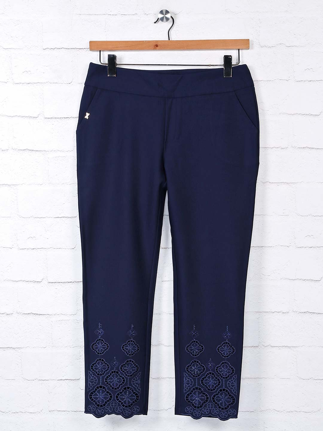 Boom navy jeggings womens in cotton?imgeng=w_400