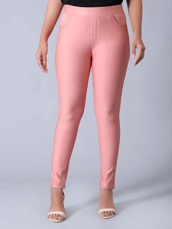 Boom powder pink cotton jeggings?imgeng=w_400