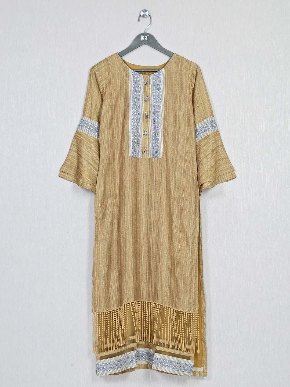 Brown casual wear cotton kurti for women?imgeng=w_400