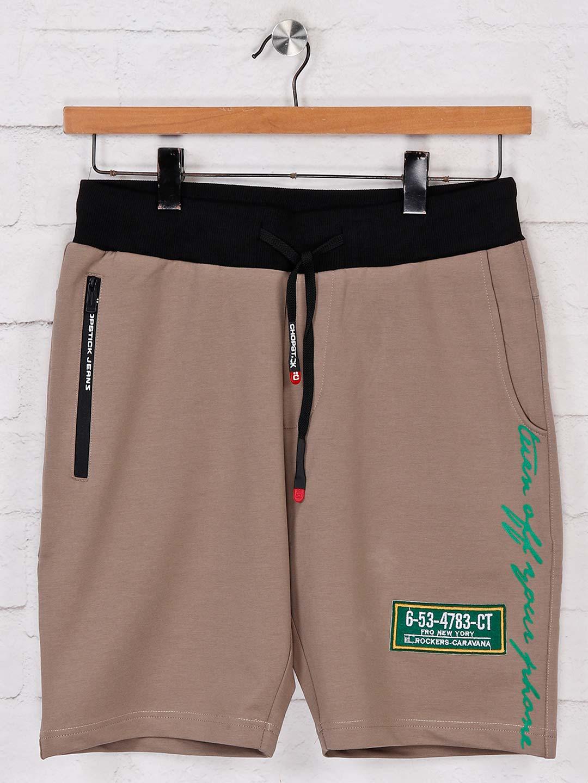 Chopstick beige shorts in cotton?imgeng=w_400