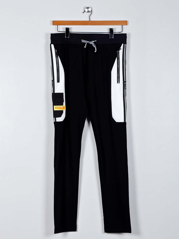 Chopstick black comfortable track pant?imgeng=w_400