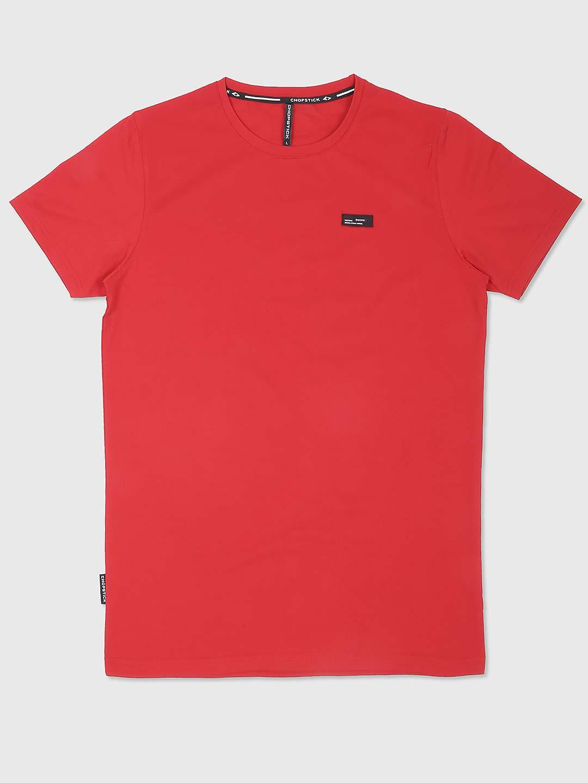 Chopstick bright peach cotton t-shirt?imgeng=w_400