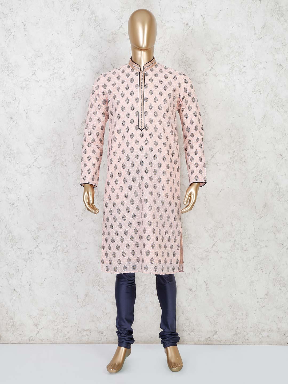 Cotton peachfull sleeve kurta suit?imgeng=w_400