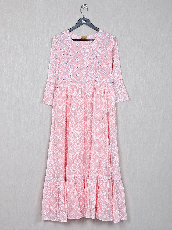 Cotton pink causal wear kurti?imgeng=w_400