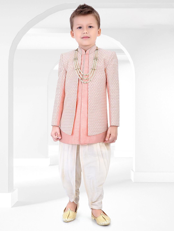 Cotton silk pink chikan thread indo western?imgeng=w_400