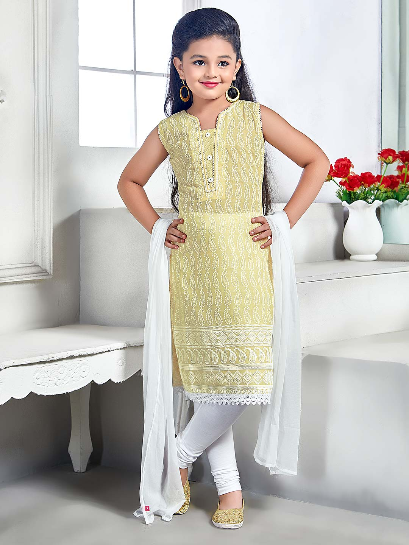 Cream color cotton fabric punjabi salwar suit?imgeng=w_400