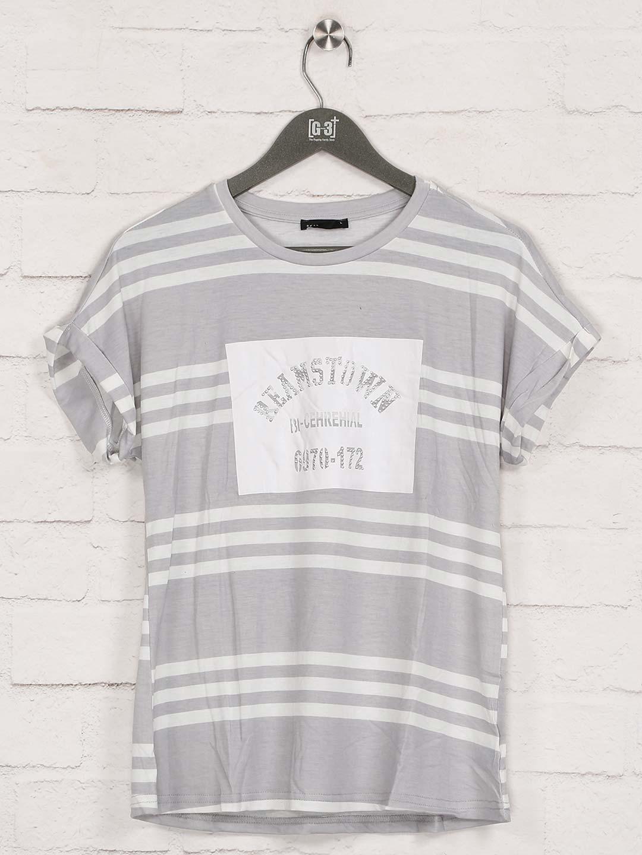 Deal grey stripe cotton casual top?imgeng=w_400