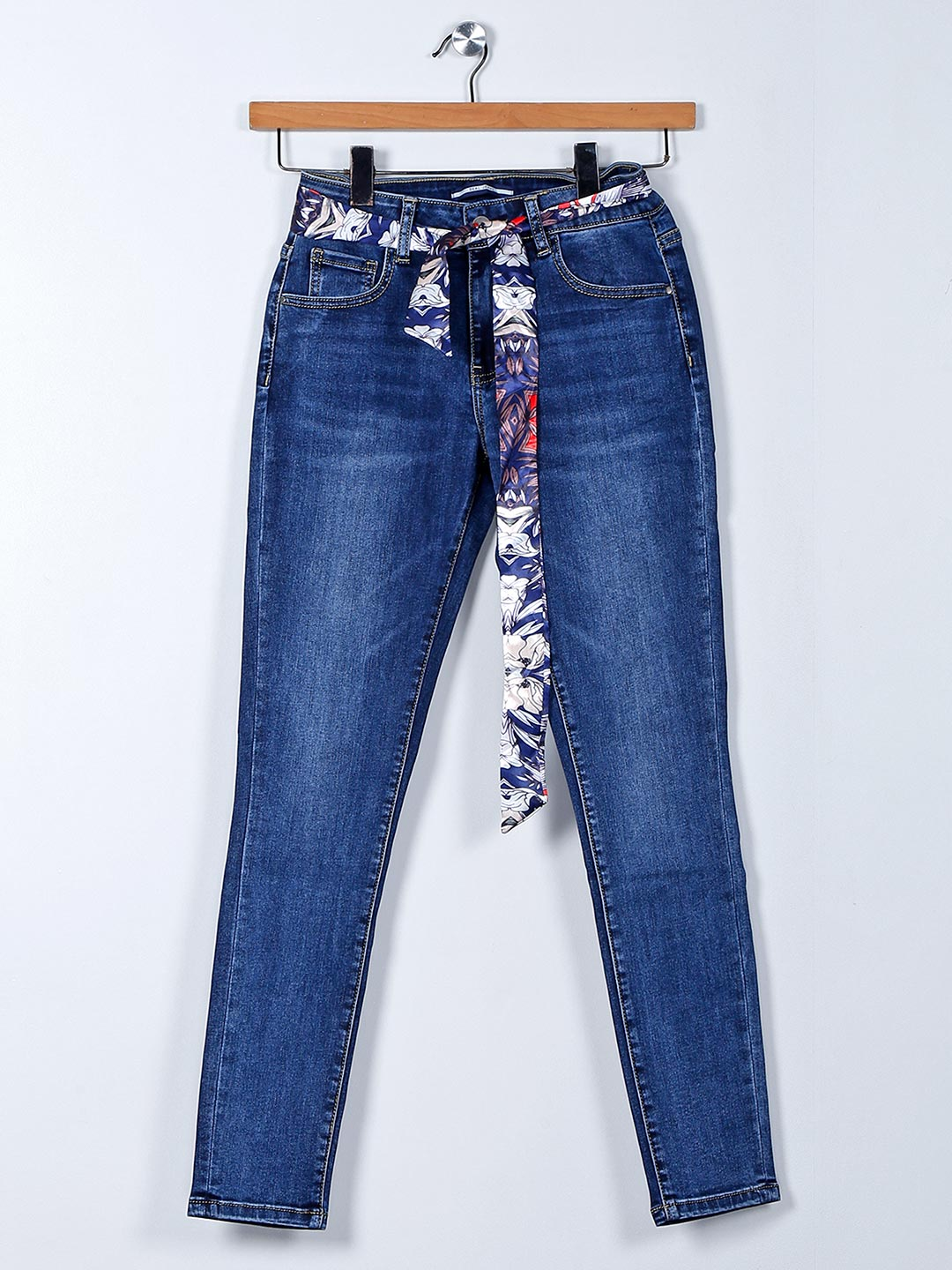 Deal navy skinny fit casual jeans?imgeng=w_400