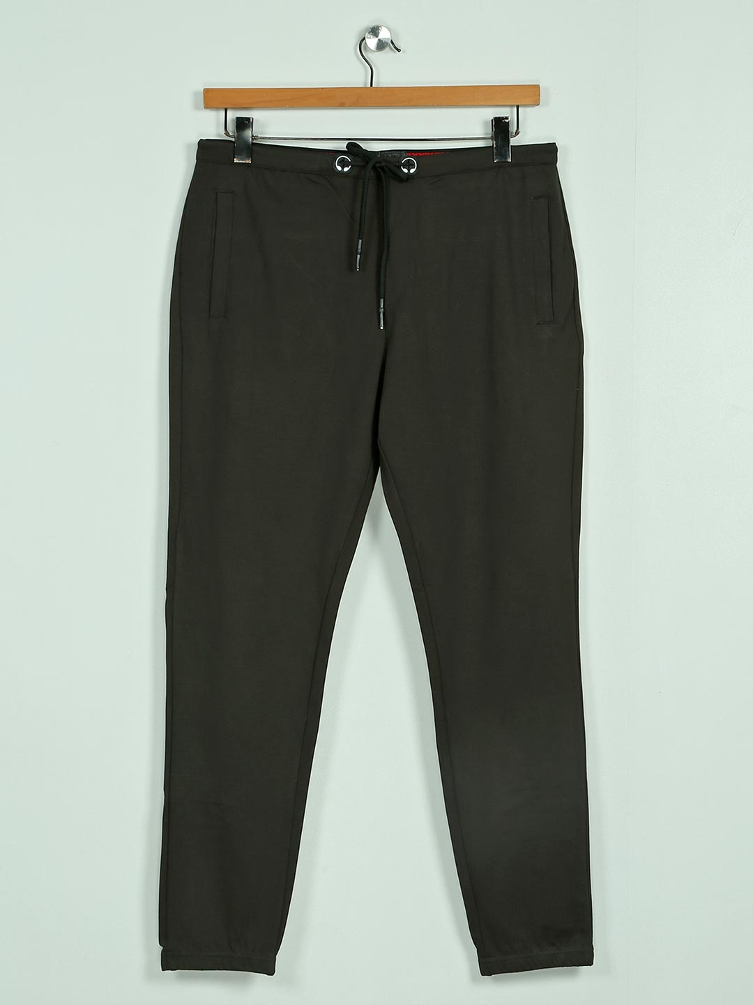 Deepee green solid cotton night track pant?imgeng=w_400