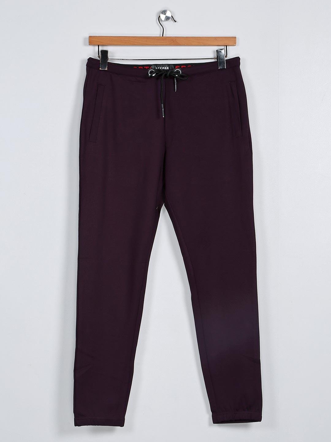 Deepee purple cotton track pant for mens?imgeng=w_400