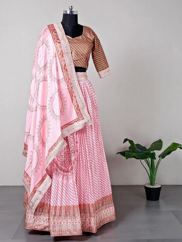 Designer pink silk lehenga choli for wedding?imgeng=w_400