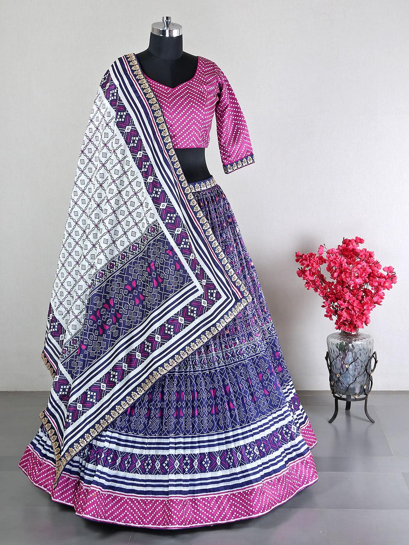 Designer reception wear purple lehenga in silk?imgeng=w_400