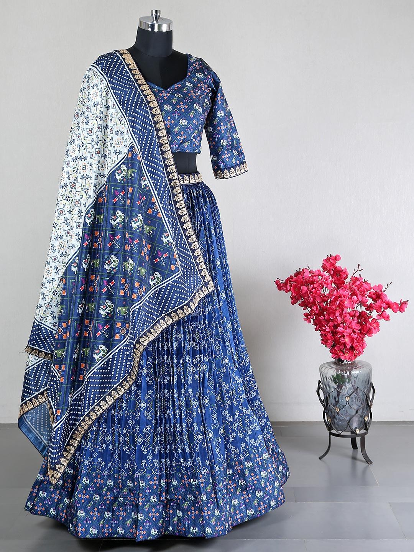 Designer wedding lehenga in navy hue?imgeng=w_400