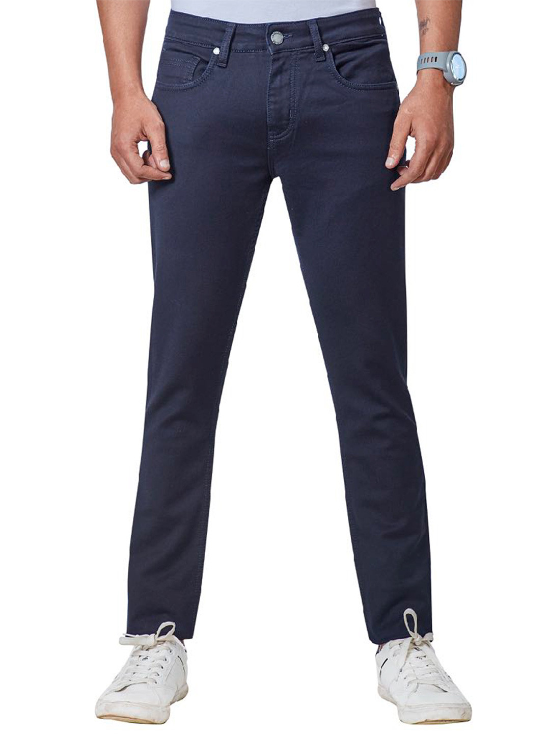 Dragon Hill dark navy solid jeans?imgeng=w_400