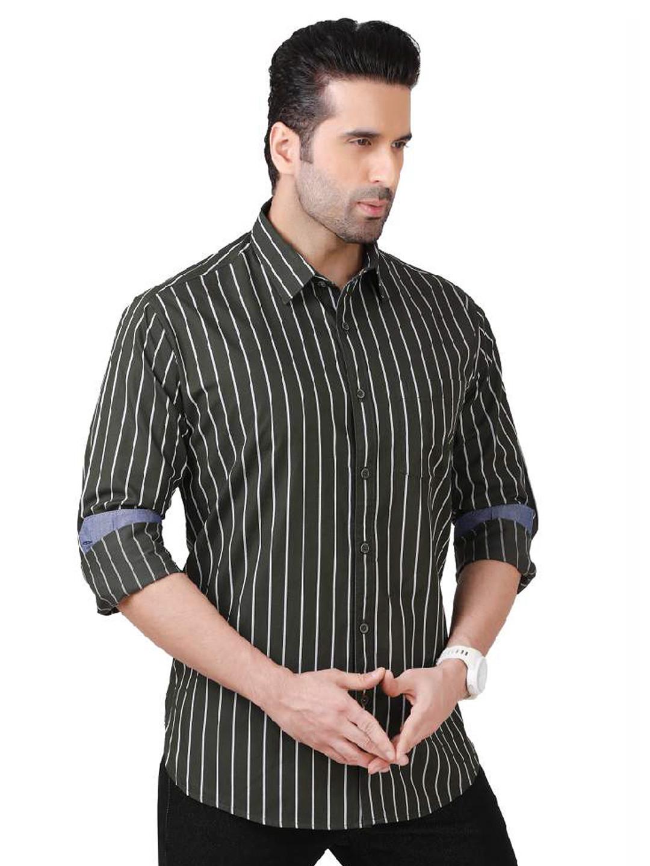 Dragon Hill green stripe casual shirt?imgeng=w_400