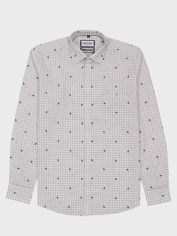 Easies light grey checks slim fit shirt?imgeng=w_400