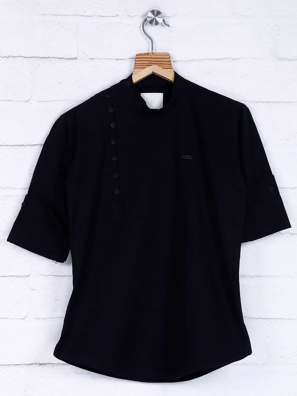 Festive function black cotton kurta?imgeng=w_400