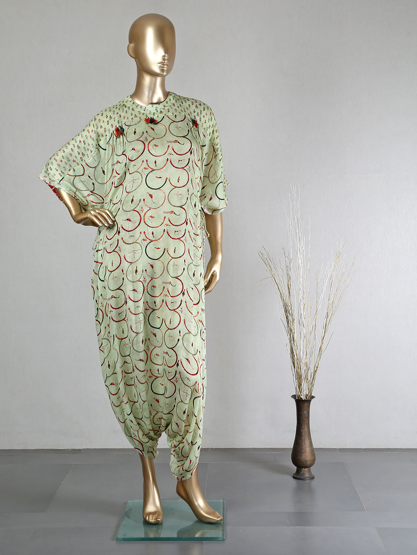 Festive wear pista green dhoti style salwar suit?imgeng=w_400