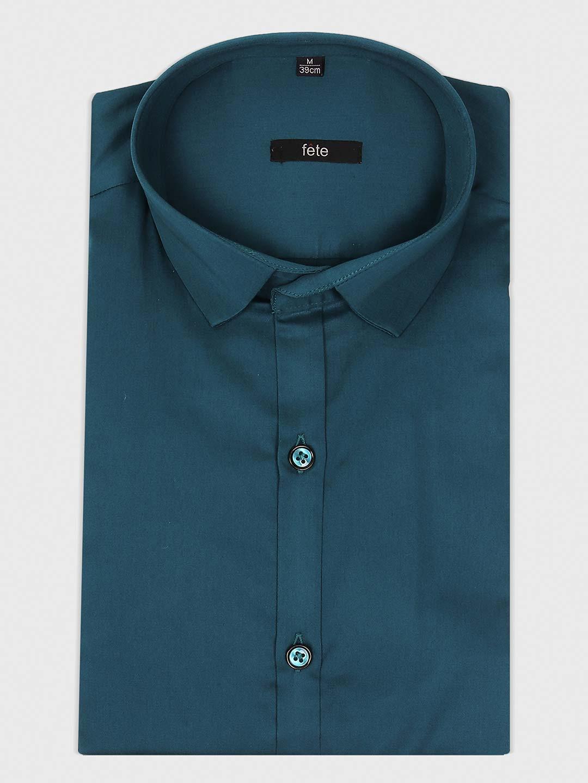 Fete rama green solid shirt?imgeng=w_400