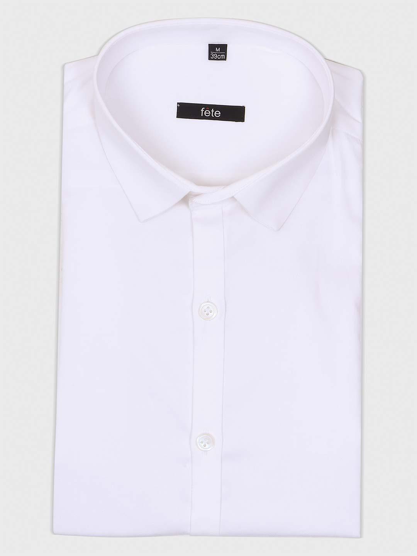 Fete simple white cotton shirt?imgeng=w_400