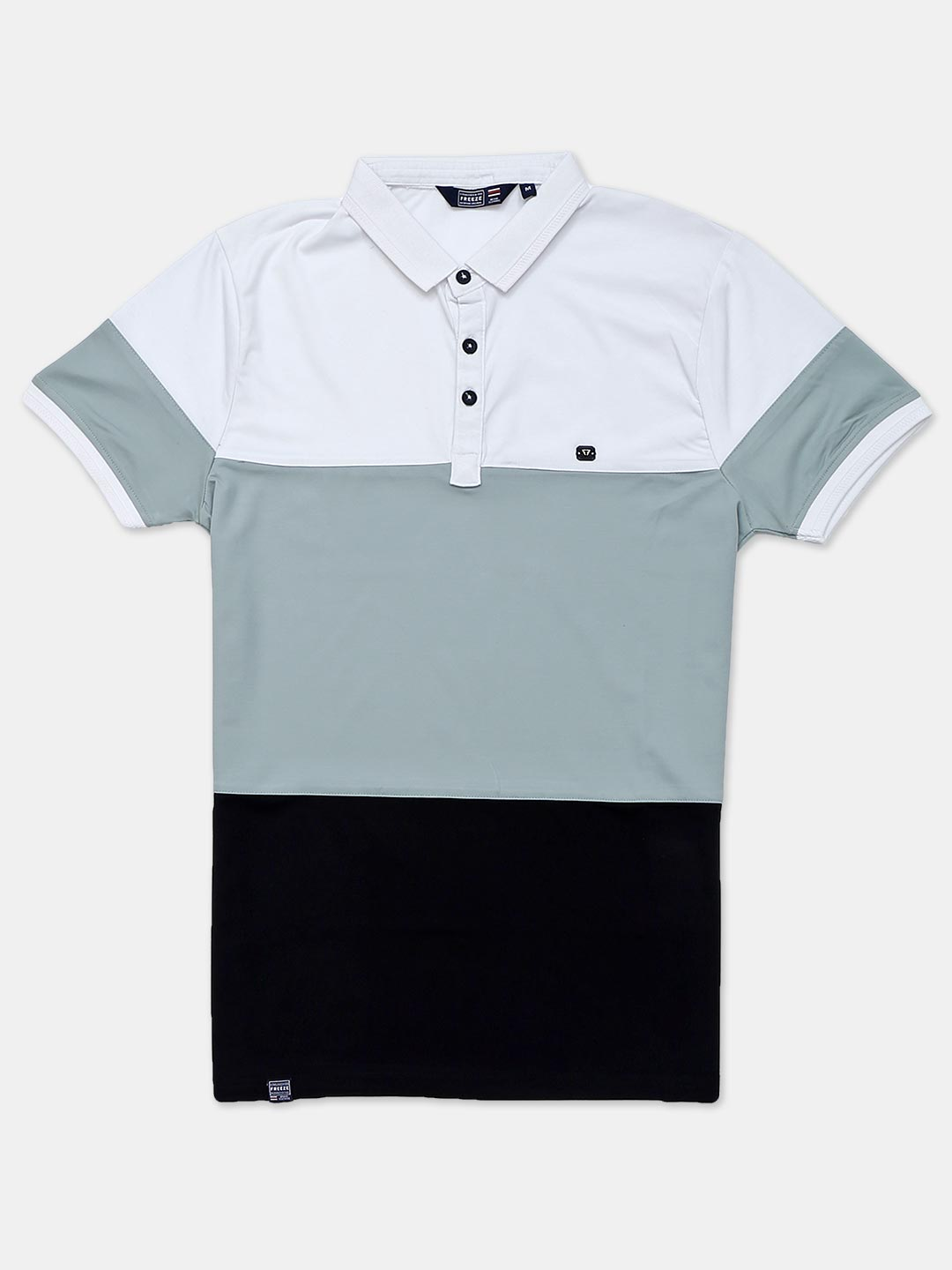 Freeze solid green half sleeves polo t-shirt?imgeng=w_400