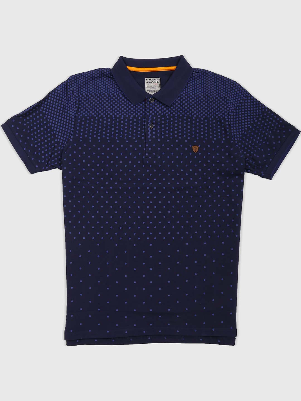 Fritzberg navy cotton fabric t-shirt?imgeng=w_400