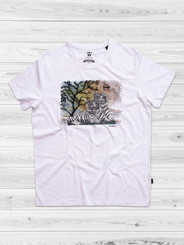 Fritzberg noble white color slim fit t-shirt?imgeng=w_400