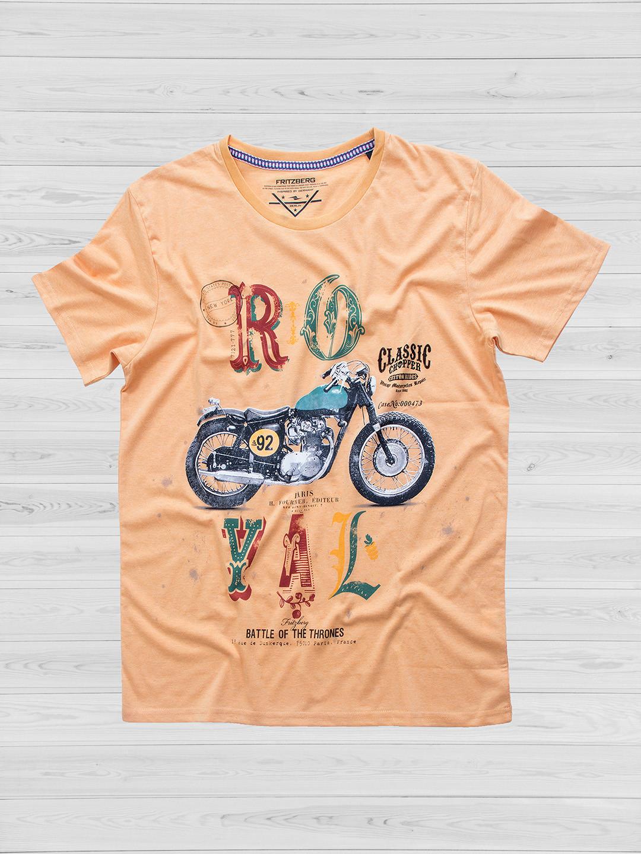 Fritzberg printed peach t-shirt?imgeng=w_400