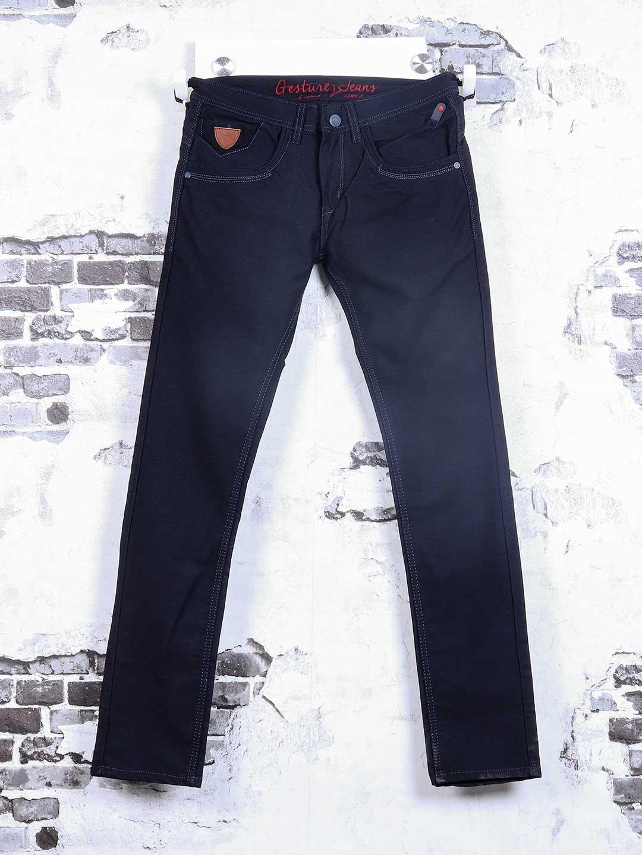 Gesture navy plain jeans?imgeng=w_400