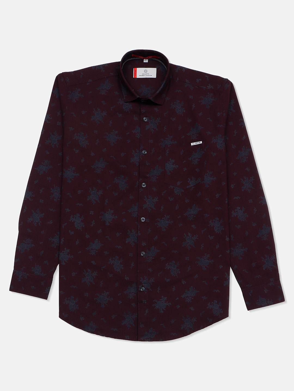 Gianti mint maroon printed casual shirt?imgeng=w_400