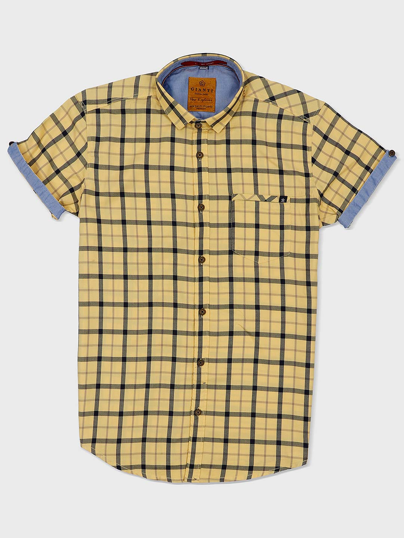 Gianti yellow checks pattern shirt?imgeng=w_400