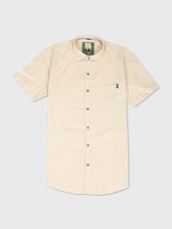 Ginneti yellow and white checks shirt?imgeng=w_400