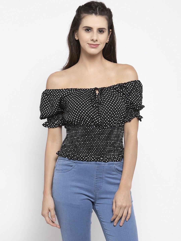 Global Republic latest black casual wear western top for women?imgeng=w_400
